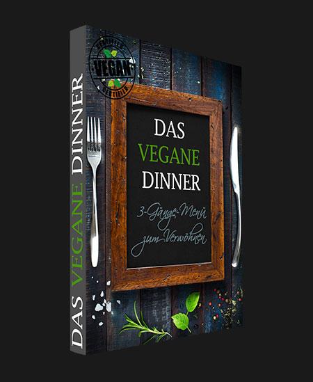 Das Vegane Dinner - hier seht Ihr das E-Book
