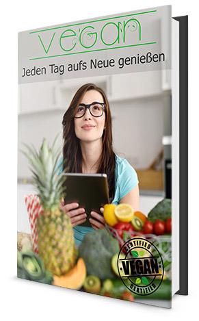 Vegane  Rezepte, hier seht ihr das E-Book