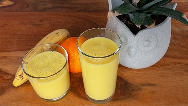Ananas-Banane-Orange